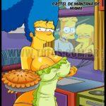Pastel de Manzana – Los Simpsons